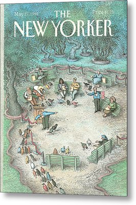 New Yorker May 27th, 1991 Metal Print
