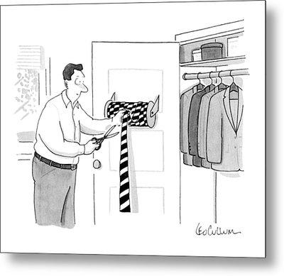New Yorker May 28th, 1990 Metal Print