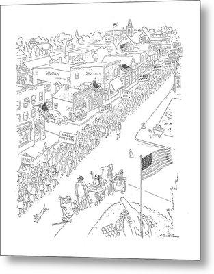 New Yorker May 30th, 1942 Metal Print
