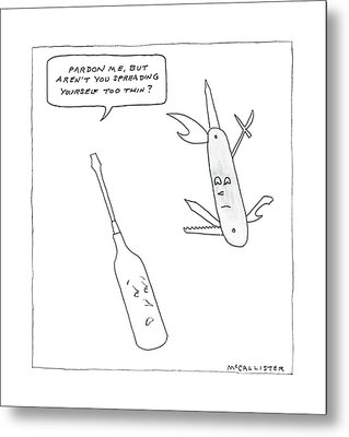 New Yorker May 9th, 1988 Metal Print