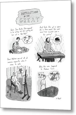 New Yorker November 10th, 1986 Metal Print by Roz Chast