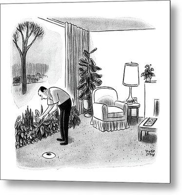 New Yorker November 14th, 1964 Metal Print by Robert J. Day