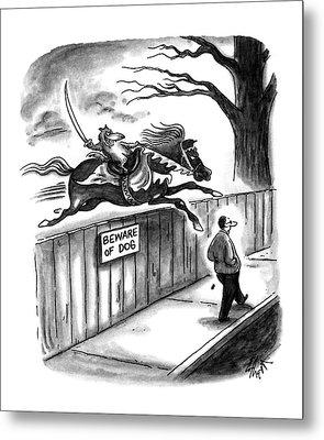 New Yorker November 14th, 1994 Metal Print