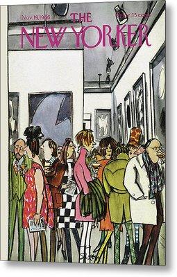 New Yorker November 19th, 1966 Metal Print