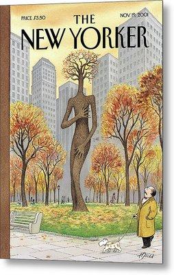 New Yorker November 19th, 2001 Metal Print