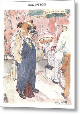 New Yorker November 23rd, 1998 Metal Print