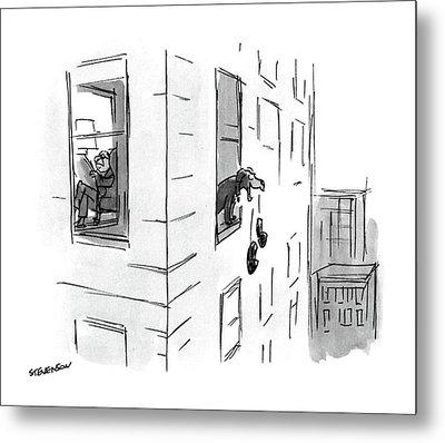 New Yorker October 17th, 1988 Metal Print