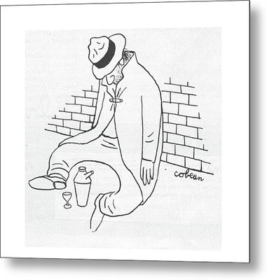 New Yorker October 21st, 1944 Metal Print