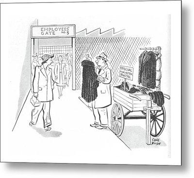 New Yorker October 30th, 1943 Metal Print
