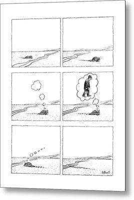 New Yorker October 3rd, 1988 Metal Print