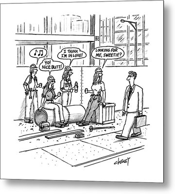 New Yorker October 5th, 1992 Metal Print