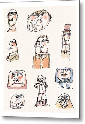 New Yorker September 13th, 1999 Metal Print