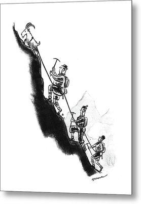 New Yorker September 14th, 1940 Metal Print