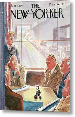 New Yorker September 15th, 1945 Metal Print