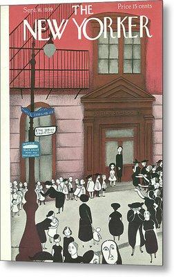 New Yorker September 16th, 1939 Metal Print