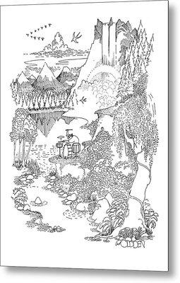 New Yorker September 19th, 1970 Metal Print