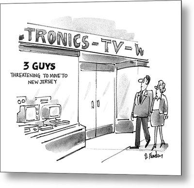 New Yorker September 20th, 1993 Metal Print