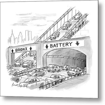 New Yorker September 20th, 1999 Metal Print