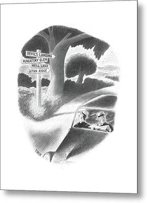 New Yorker September 21st, 1940 Metal Print