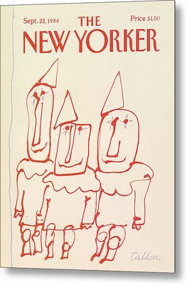 New Yorker September 22nd, 1986 Metal Print