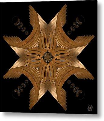 Nexus Metal Print by David Voutsinas