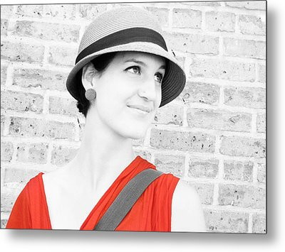 Metal Print featuring the photograph Nice Hat by Tony Murray