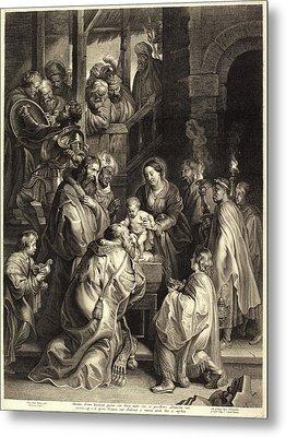 Nicolaes Lauwers, After Sir Peter Paul Rubens Metal Print