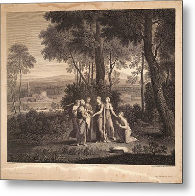 Nicolas Poussin French, 1594 - 1665. Untitled Moses Metal Print
