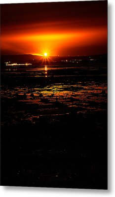 Night Flare. Metal Print by Lenny Carter