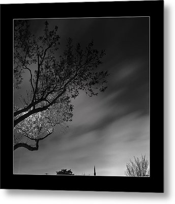 Metal Print featuring the photograph Night Passing by Kevin Bergen