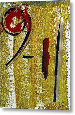 Nine Eleven Metal Print by Richard Sean Manning