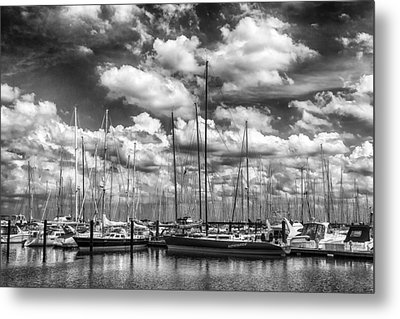 Nitemare On The Lake Metal Print