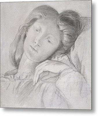 Elizabeth Siddal, Circa 1860 Metal Print