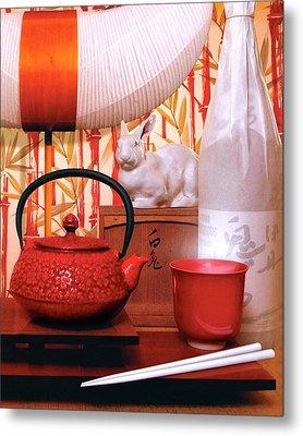 Noguchi Lamp Metal Print