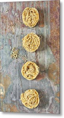 Noodles Metal Print