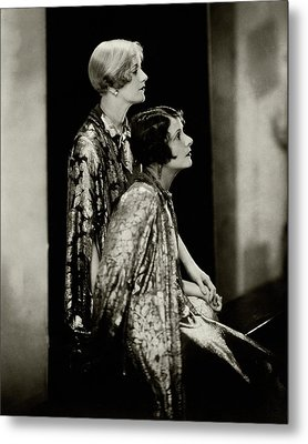 Norma And Constance Talmadge Metal Print
