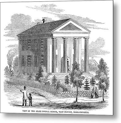 Normal School, 1853 Metal Print by Granger