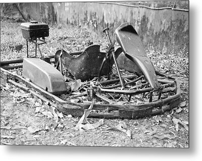 Not The Fastest Kart In The East Metal Print by Kantilal Patel