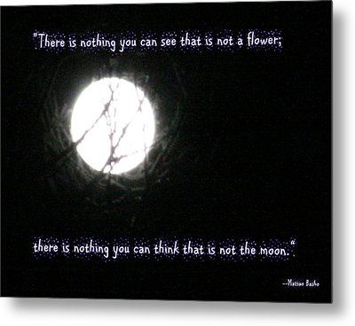 Nothing But The Moon Metal Print by Paula Tohline Calhoun