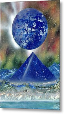 Nova Blue  Metal Print