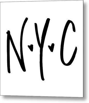 N.y.c Metal Print