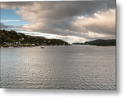 Metal Print featuring the photograph Oban's Lagoon by Sergey Simanovsky
