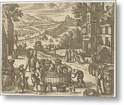 October, Pieter Van Der Borcht Metal Print