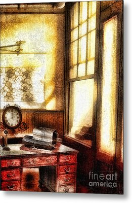 Office Metal Print by Mo T