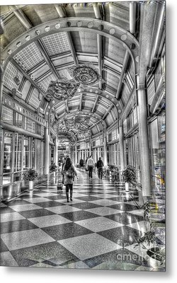 Ohare Terminal Two Metal Print by David Bearden