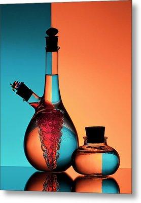 Oil And Vinegar Metal Print