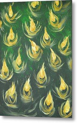 Oil Of Joy Metal Print by Denise Warsalla