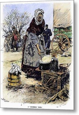 Oklahoma Boomer, 1889 Metal Print by Granger