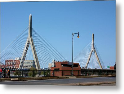 Old And New Boston Metal Print by Kristin Elmquist