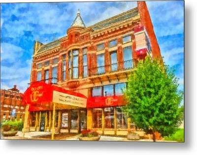 Old City Prime Restaurant Lima Ohio Metal Print by Dan Sproul
